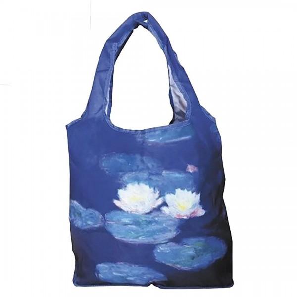 """Einkaufstasche """"Claude Monet - Seerosen"""""""
