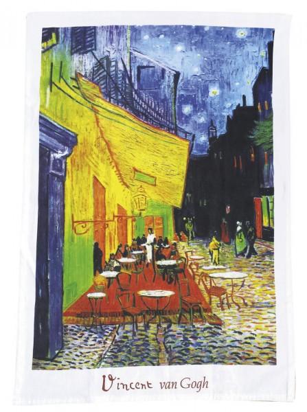 """Geschirrtuch """"Van Gogh - Café de Nuit"""""""